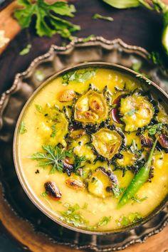 Bengali Tetor Daal - Lentil with bitter gourd