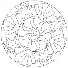 Simple Summer Coloring Pages Beautiful Cool Simple Mandala Coloring Pages Pattern Coloring Pages, Mandala Coloring Pages, Coloring Book Pages, Stained Glass Patterns, Mosaic Patterns, Mandalas For Kids, Summer Coloring Pages, Simple Mandala, Mandalas Drawing