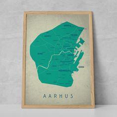 Aarhus Map - Day