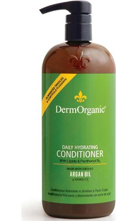 @jbrobeck says Dermorganic Daily Moisturizing Conditioner soothes her stressed out wavy tresses!