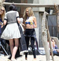 Nicola Peltz photoshoot candids in Malibu Nicola Peltz, Make My Day, Green Business, Teen Vogue, Candid, Leather Skirt, Punk, Skirts, Beautiful