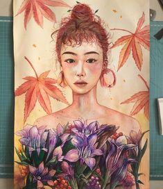 artyu illust  #illust #watercolor #illustration #artist #artwork #일러스트 #수채화