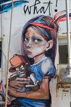 Herakut - I Support Street ArtI Support Street Art