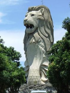 Tour the Merlion on Sentosa Island in Singapore - Done!