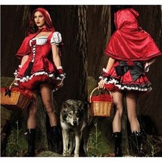 Sexy-Little-Red-Riding-Hood-Adult-Fancy-Cosplay-Dress-Halloween-Carnival-Costume