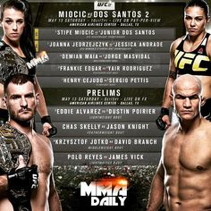 What are your picks for these #UFC211 fights? #mma #ufc