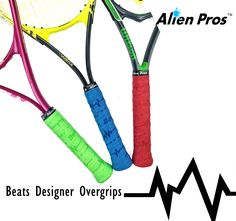 NEW ALIEN PROS EMBOSSED BEATS DESIGNER OVERGRIPS! Subscribe to get New Designer Overgrips every month!  Starting from 3 Grips at $9.99/Month including free shipping to most countries! Direct message us to get more details! Link to website in Bio. #alienpros #Tennis #Tennisball #Tennislife #Tennisplayer #Tenniscourt #Tennispractice #instatennis #lovetennis #borntoplay