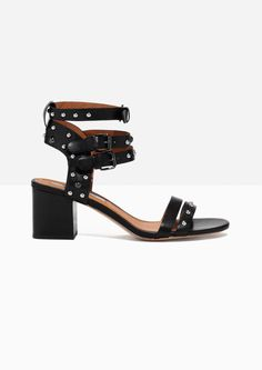 & Other Stories image 1 of Strappy Sandalette in Black