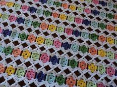 Manta Bebê Mile a Minute em Crochê - Como Fazer