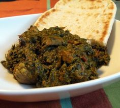 Saag Gnost (Lamb with Spinach Indian Food) Bbc Good Food Recipes, Indian Food Recipes, Asian Recipes, Cooking Recipes, Healthy Recipes, Ethnic Recipes, Punjabi Recipes, Diwali Recipes, Scd Recipes