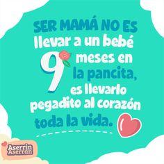 El camino de ser #mamá nos lleva a descubrir un sin fin de aprendizajes. #bebé #hijos #maternidad #embarazo #frases #quotes