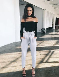 $19.99 Choker Off Shoulder Bodysuit