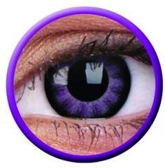 Extreem Violet Big Eyes contactlens
