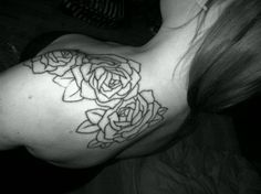 Rose tattoo.. Want it more on arm shoulder area than up by collarbone & back shoulder