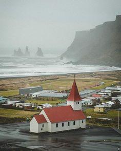 In Vik, Iceland.