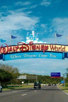 Walt Disney World in Lake Buena Vista, Florida. Where dreams come true. :)