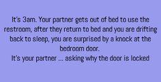 Knock at the door.