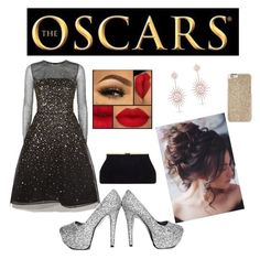 """Night at the Oscar's🔆"" by ericastiles on Polyvore featuring Oscar de la Renta, Michael Kors and Anne Sisteron"