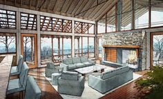 Perspective Dimensions, Inc - Architectural Rendering