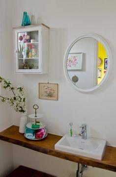Dekoideen für das Gäste-WC im Vintage und Shabby Chic Look