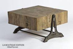 Table Basse en Bois BILLOT