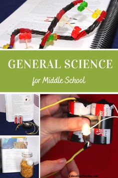 This year, spend some time studying general science with your middle schooler. This curriculum is full of fun hands-on experiments that your tweens will love. They will help them learn about the scientific method and how to document and interpret results. Study earth science, physics, and chemistry throughout the year. Kids love this engaging program. We had a blast with the experiments. Science Curriculum, Homeschool Curriculum, Homeschooling, Teaching Vocabulary, Middle Schoolers, Scientific Method, Middle School Science, Physical Science, Earth Science