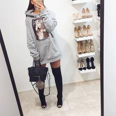 Thigh-high boots soon available @fashiondrug  www.FASHIONDRUG.com (link in bio)