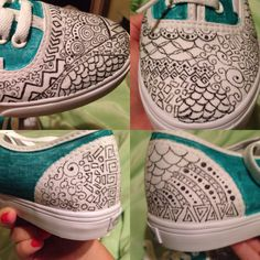 Vans Authentic with a whole new look.