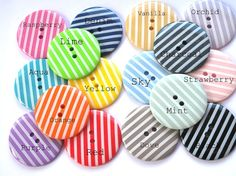 Colored buttons - which colored button speaks to you?