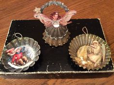 Wings of Whimsy: Christmas Ornament Tart Tins