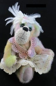 """Meet """"Trudy"""" now available for adoption: http://www.bearpile.com/item/85762"""