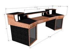 Toft ATB32 Winged Studio Desks