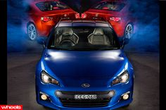 BRZ named 'Wheels' car of the year.