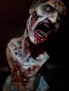 Zombie Mini-Statue by XenoEngine