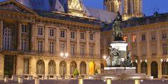 Place royale à Reims, Champagne-Ardenne (France)