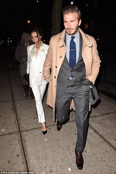 Adult-U Blog: Victoria & David Beckham step out hand-in-hand for...
