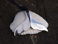 Wisiorek Płetwa - srebro 925