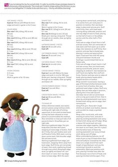 Simply Knitting Issue 131 2015 - 轻描淡写 - 轻描淡写 Crochet Dolls Free Patterns, Crochet Toys, Free Crochet, Knitting Patterns, Knitting Toys, Stuffed Animal Patterns, Diy Stuffed Animals, Knitted Teddy Bear, Simply Knitting