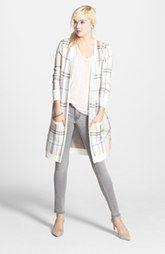 Halogen® Cardigan, Tee & Skinny Jeans
