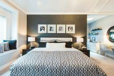 Farben Im Schlafzimmer   Die Wand Hinter Dem Bett Wird In Schwarz Wunderbar  Aussehen. Dort Können Sie Nun Ein Wunderschönes Gemälde Aufhängen. Prüfen  Sie.