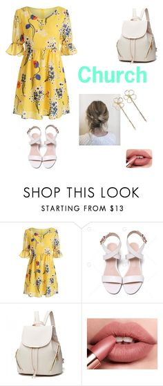 """""""Bellow For Yellow (Church Outfit)"""" by alanacouch ❤ liked on Polyvore featuring Tasha"""