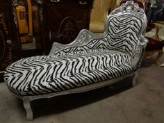 Chaise Lounge Chair (Zebra) null //.amazon.com : zebra chaise lounge - Sectionals, Sofas & Couches