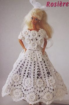 Crochet and arts: Outfits for Barbie