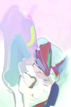 """""""Like an anthropologist on Mars,"""" abstract digital collage by Jennis Cheng Tien Li 