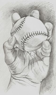 sportyviews.com Baseball Pencil Drawing