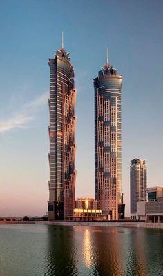 JW Marriott Marquis, Dubai #modernarchitecturehotel
