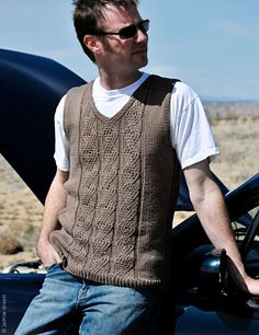 angela hahn sweater vest knitting pattern on twist collective