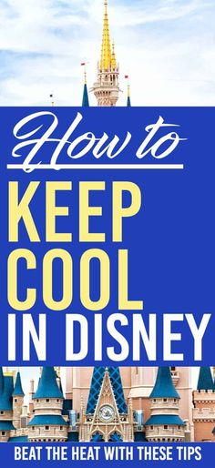 How to keep cool in Disney World. Here are some great ways to beat the heat in Walt Disney World. Going to Disney World in the summer can get hot. Luckily there are a ton of ways for you to keep cool and beat the heat. Walt Disney World, Disney World Florida, Disney World Resorts, Disney Vacations, Disney Parks, Disney Hotels, Family Vacations, Disney On A Budget, Disney World Vacation Planning