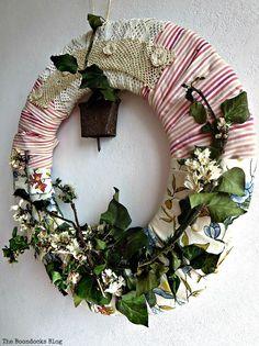 An Almond Wreath for Spring, DIY My Spring - theboondocksblog.com