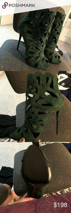 Giuseppe Zanotti Design Heels Brand new without the box. Sticker was peeled off the bottom. Size 9 Giuseppe Zanotti Shoes Heels
